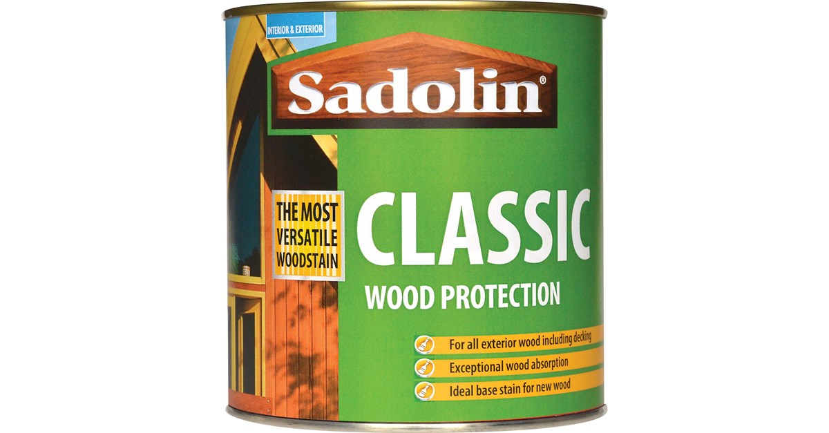 Sadolin Classic Colours Woodstain 1 Litre Stains