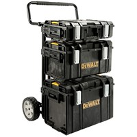 Dewalt  Toughsystem Trolley & 3 DS Toolboxes