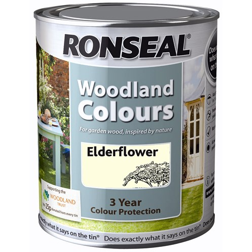 Ronseal  Woodland Colour Paint - 750ml