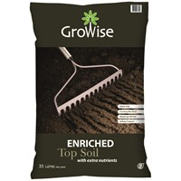 Bord na Móna Growise Enriched Top Soil - 35 Litre