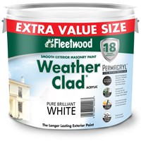 Fleetwood  Weather Clad Pure Brilliant White - 11 Litre