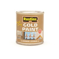 Rustins  Quick Dry Gold Paint - 125ml