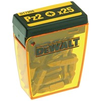 Dewalt  DT7908 Pozi No. 2 Bits Flip Top Pack - 25 Piece