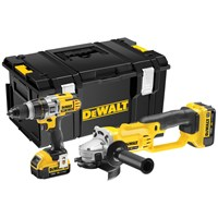 Dewalt  DCK293 M2 XRP 3 Speed Combi Drill & Grinder Twin Pack Kit - 18V