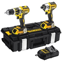 Dewalt  DCK250D2 XR Li-Ion Brushless Combi Drill & Impact Driver Twin Pack Kit - 18V