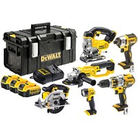 Dewalt  DCK694M3 18V Power Tool Kit - 6 Piece
