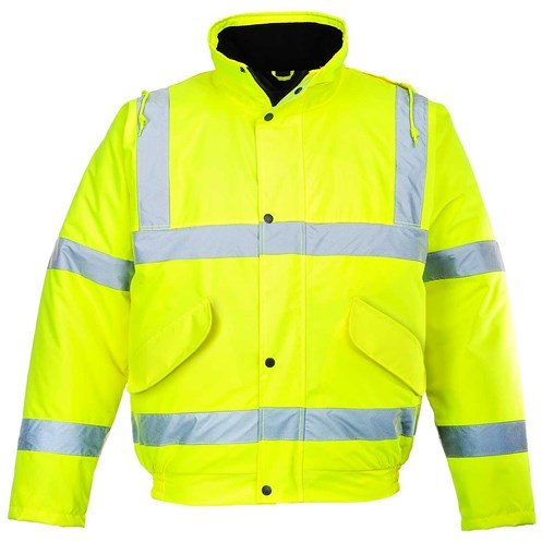 Portwest  Hi-Vis Bomber Jacket - Yellow