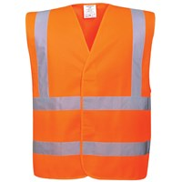 Portwest  Hi Vis Two Band & Brace Vest - Orange