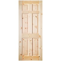 InDoors  Rosemont 6 Panel Interior Red Deal Door - Pre-finished