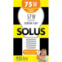 Solus  ES A55 Halogen Energy Saver Light Blub - 57W