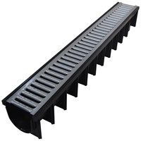 Galco  Polypropylene Drainage Channel with Galvanised Mesh