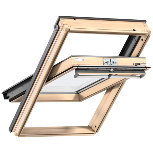 Velux  Double Glazed Centre Pivot Roof Window Pine -  GGL 3070