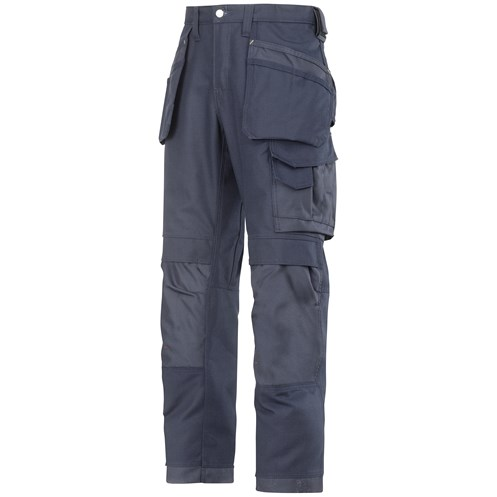 Snickers  3214 Craftsmen Canvas+ Holster Pocket Trousers - Navy